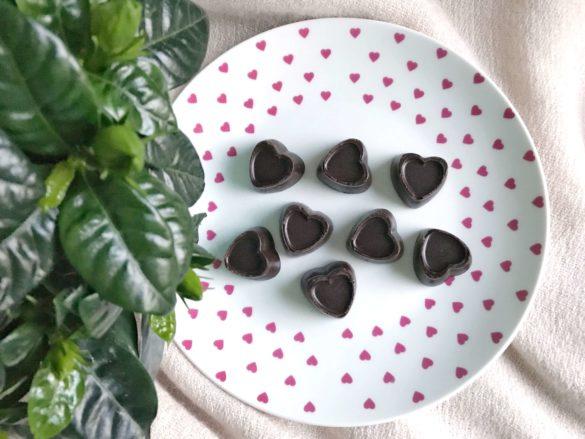 Fit czekoladki chałwowe