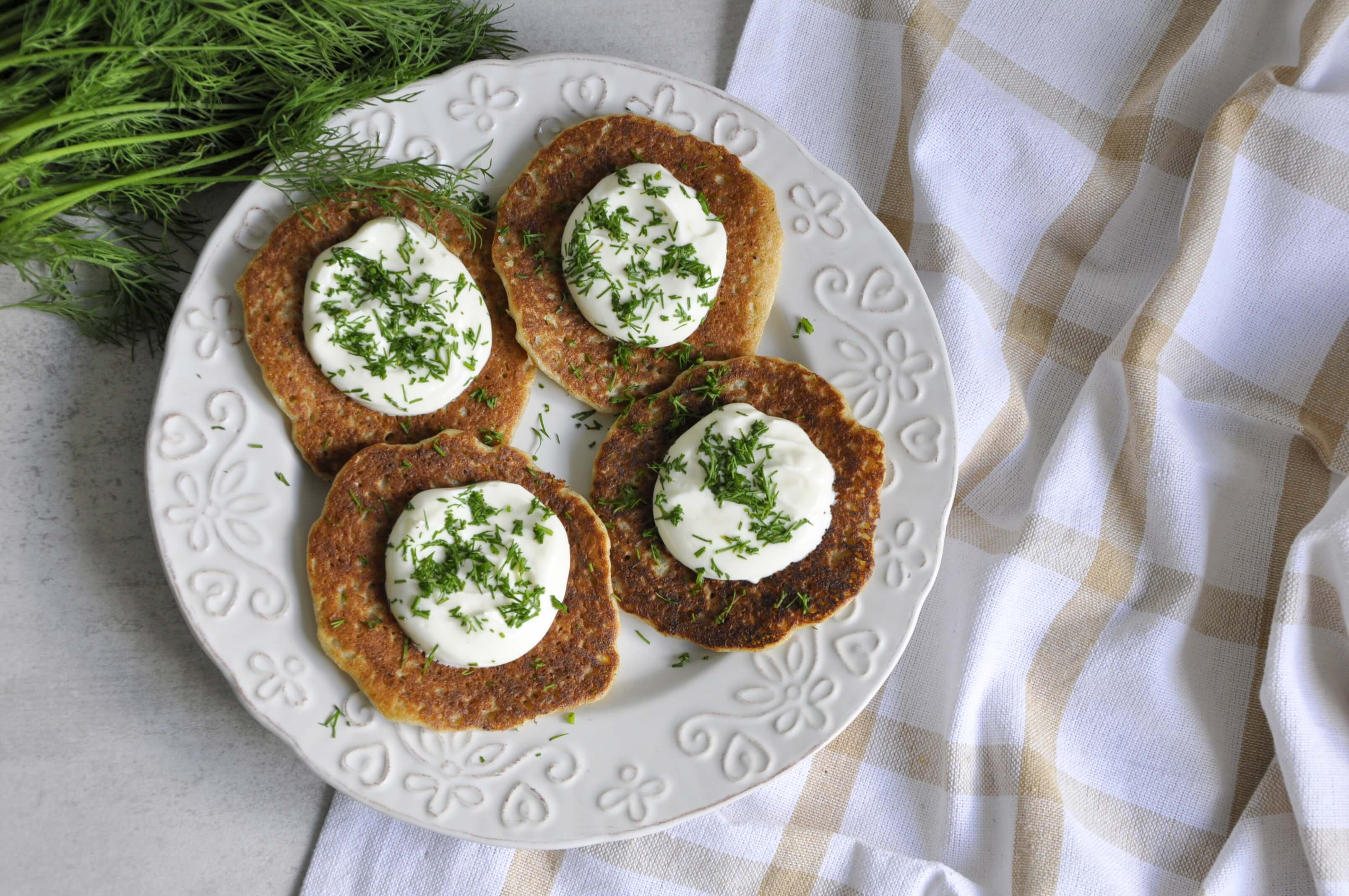 Fit placki ziemniaczane - pomysł na zdrowy obiad